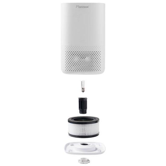 Bestron Bestron luchtreiniger met 4-voudig filtersysteem | + Touch display