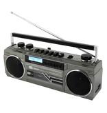Soundmaster Soundmaster SRR70TI Retro stereo radio cassette recorder - met DAB+, Bluetooth en USB