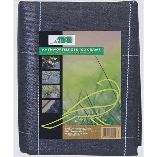 Meuwissen Agro Anti-worteldoek 3,3x5 meter | 100 grams, Verpakt