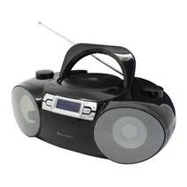 Soundmaster SCD8100SW DAB+ Boombox met CD/MP3, USB, SD en Bluetooth