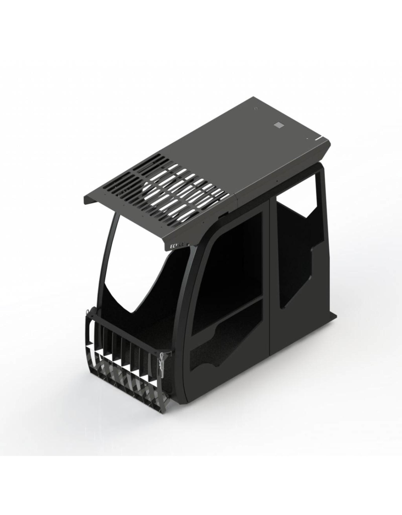 Echle Hartstahl GmbH FOPS pour Komatsu PW180-10/11