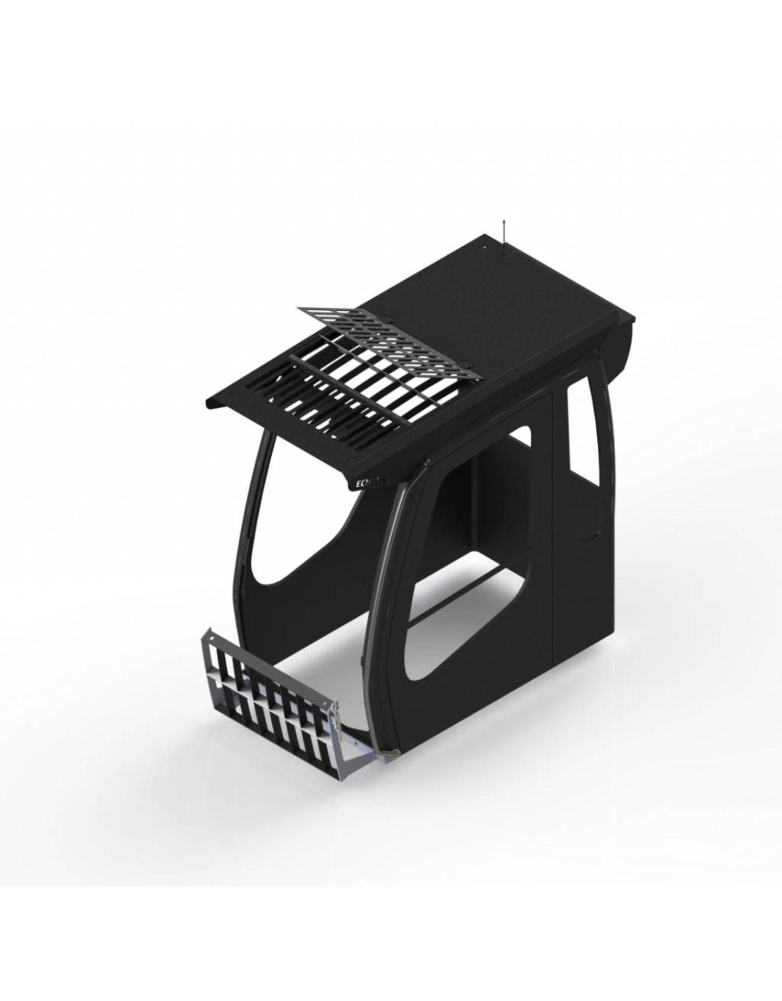 Echle Hartstahl GmbH FOPS pour Liebherr R 956