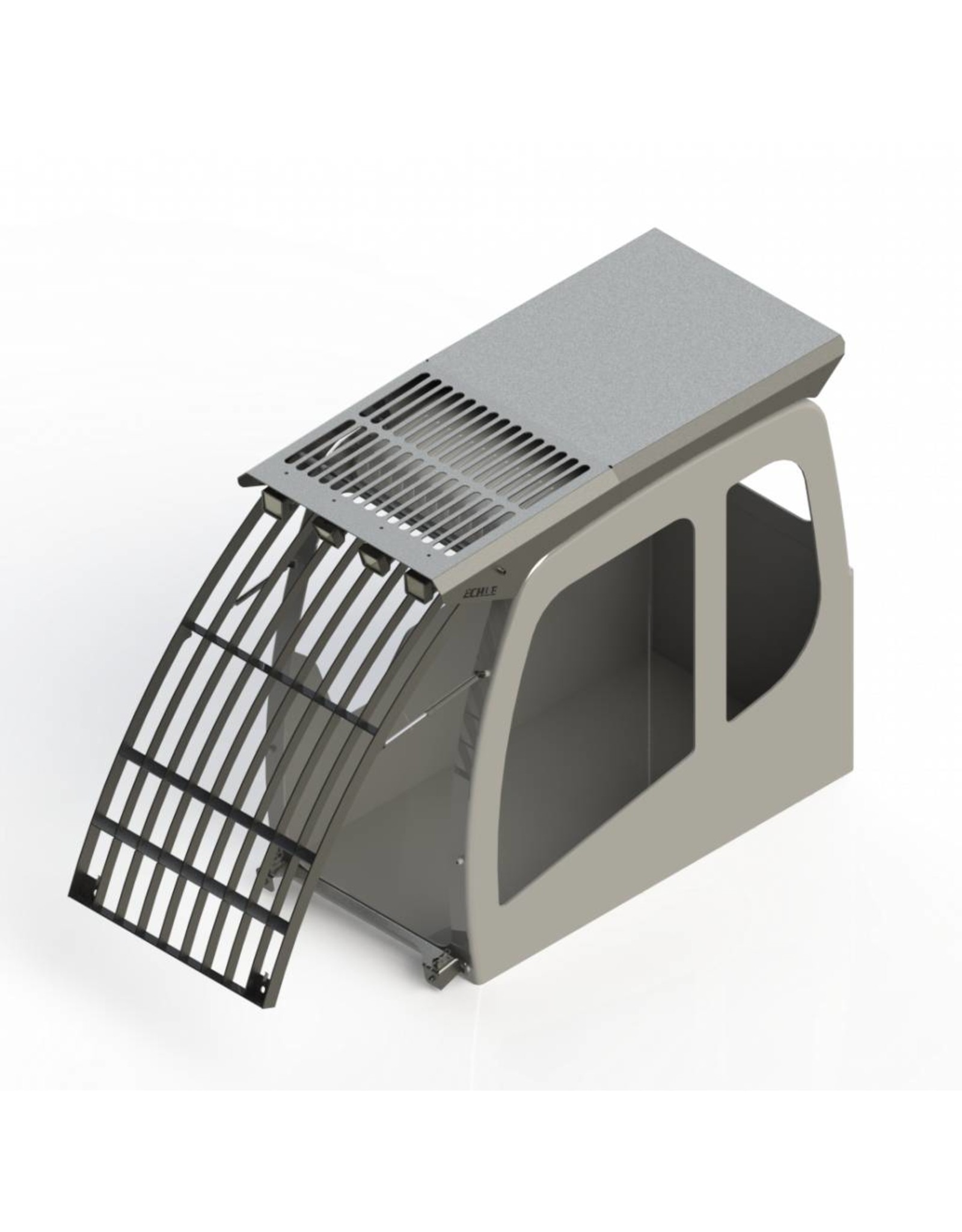 Echle Hartstahl GmbH FOPS pour Liebherr R 950 Demolition