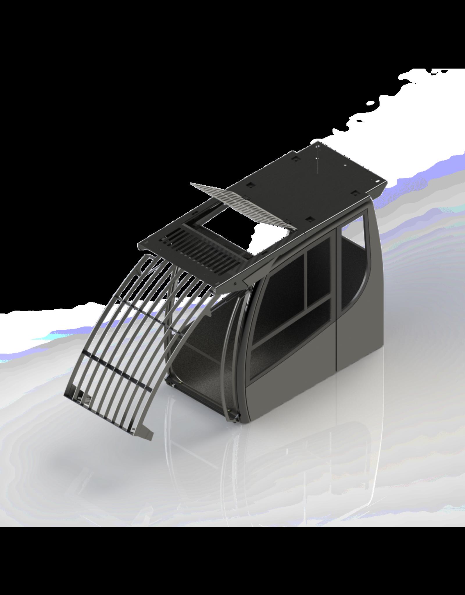 Echle Hartstahl GmbH FOPS pour Komatsu PC230NHD-11