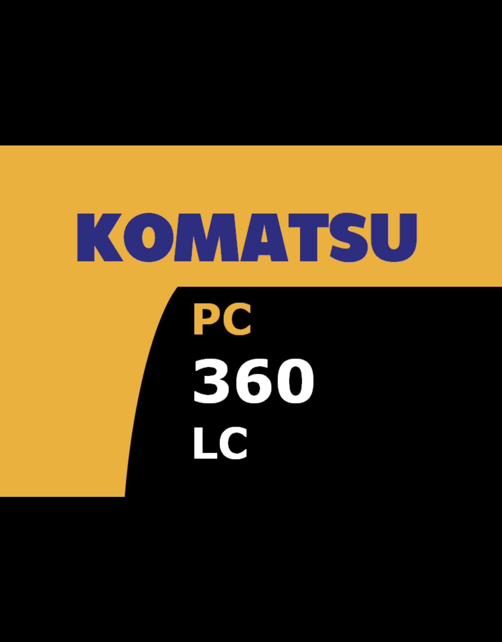 Echle Hartstahl GmbH FOPS pour Komatsu PC360LC-10/11