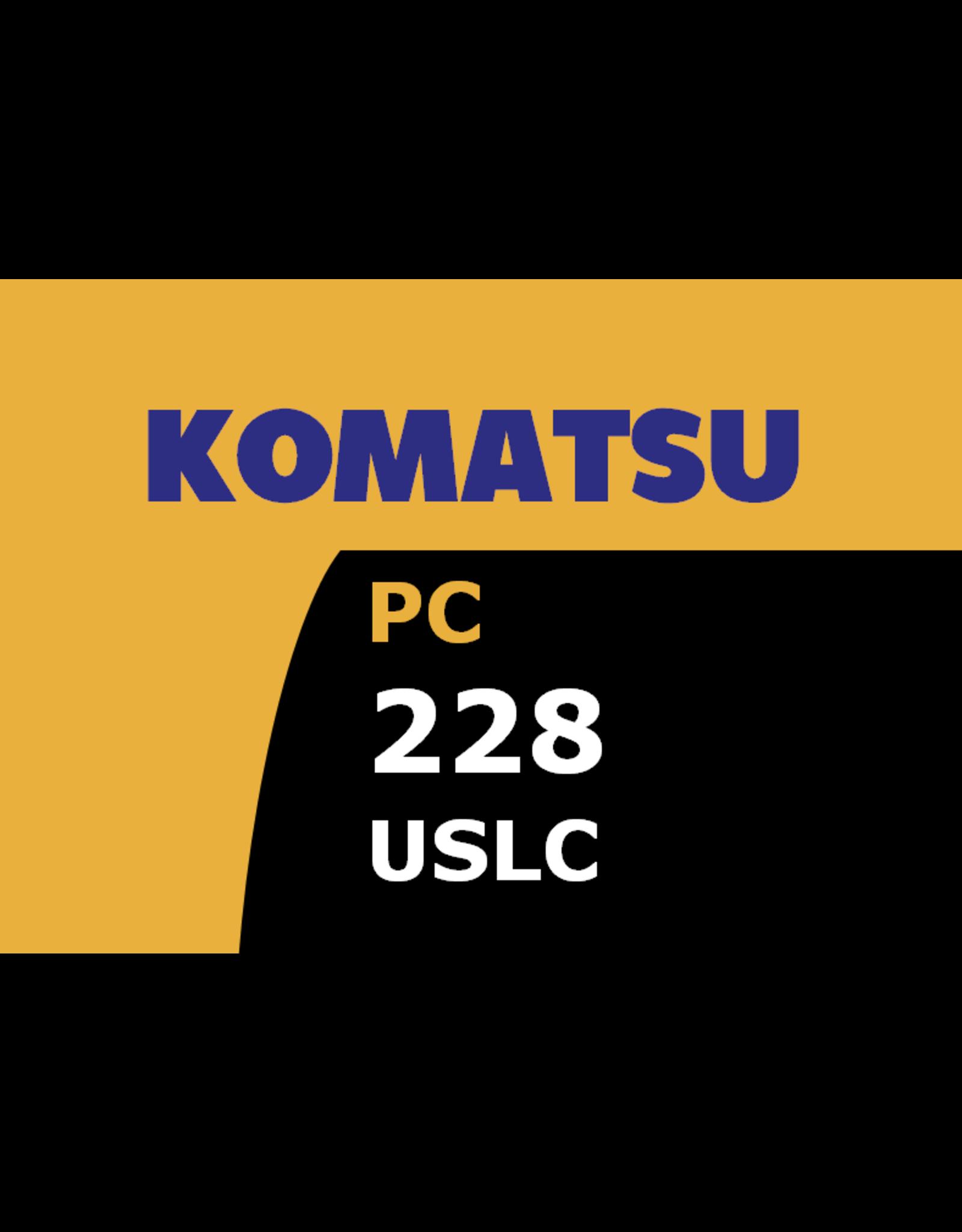Echle Hartstahl GmbH FOPS pour Komatsu PC228USLC-10/11