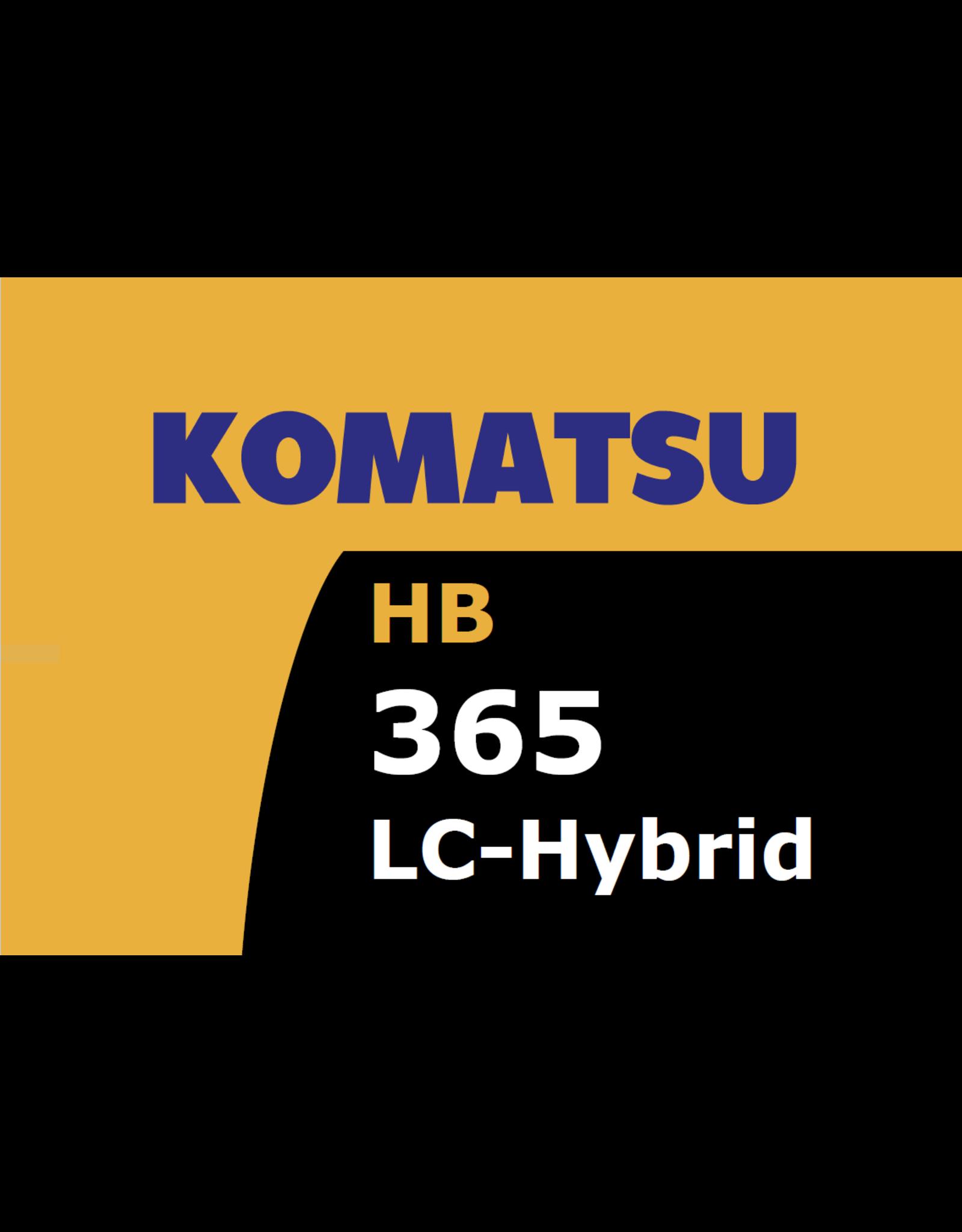 Echle Hartstahl GmbH FOPS for Komatsu HB365LC-3 Hybrid