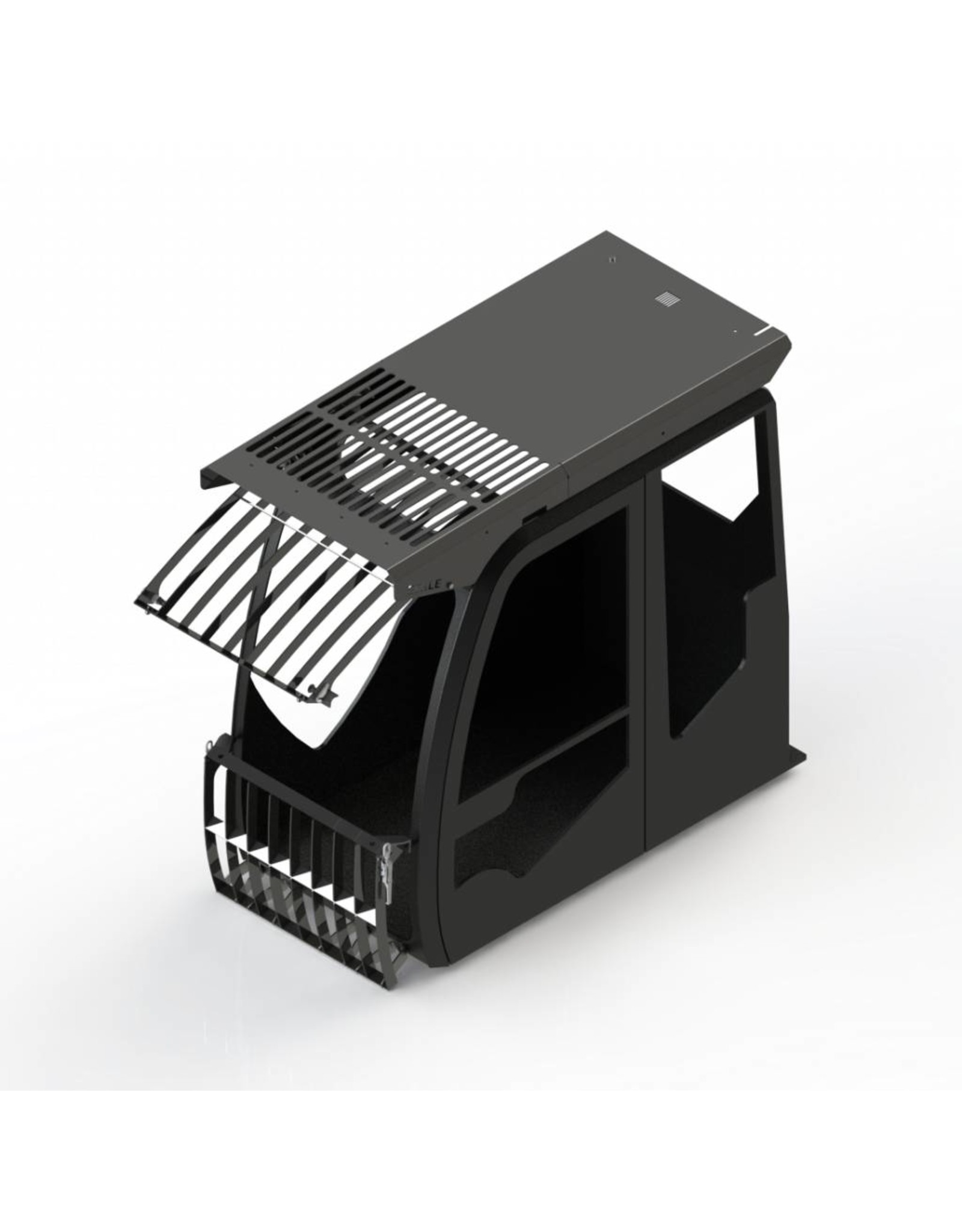 Echle Hartstahl GmbH FOPS pour Komatsu HB215LC-3 Hybrid