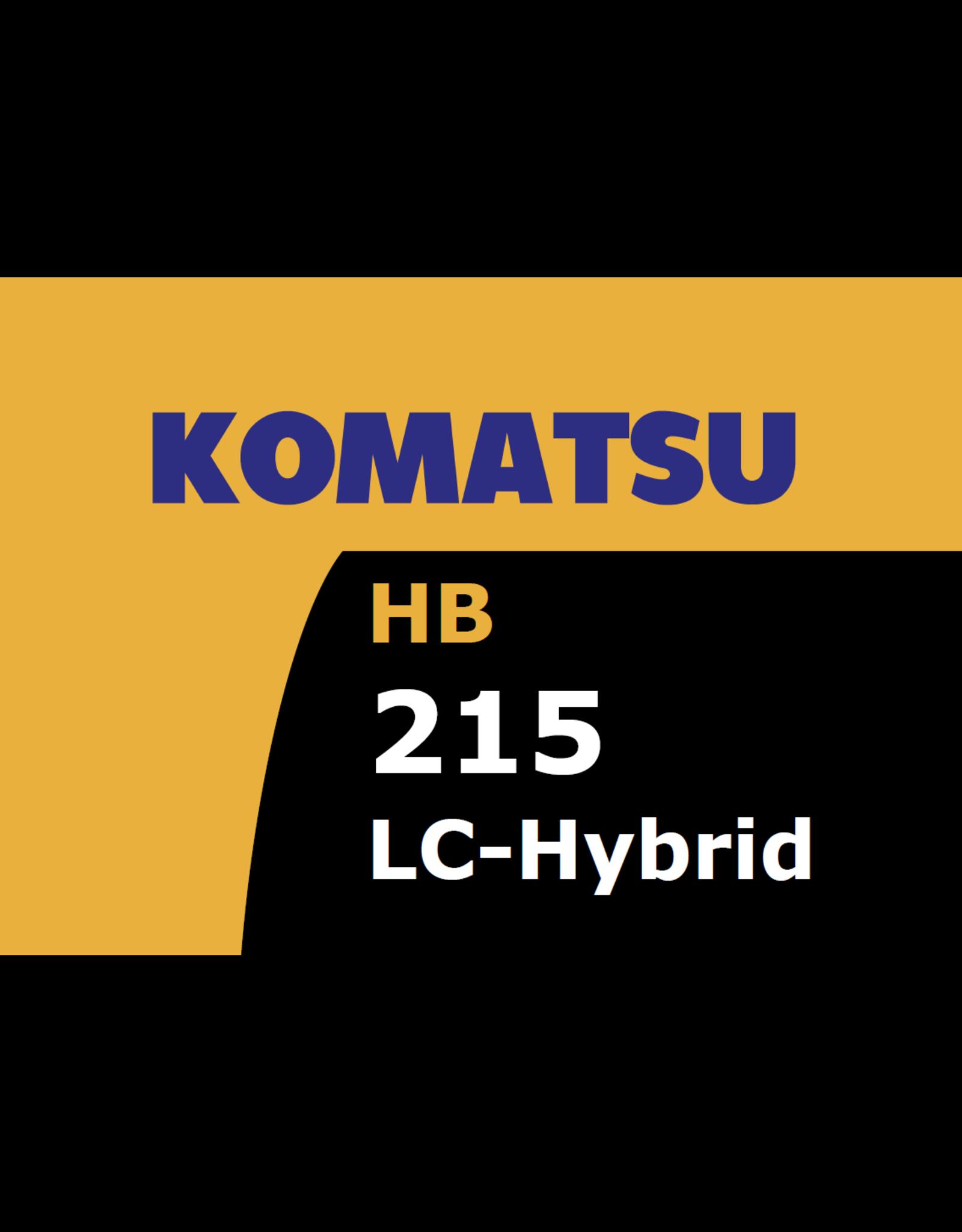 Echle Hartstahl GmbH FOPS for Komatsu HB215LC-3 Hybrid