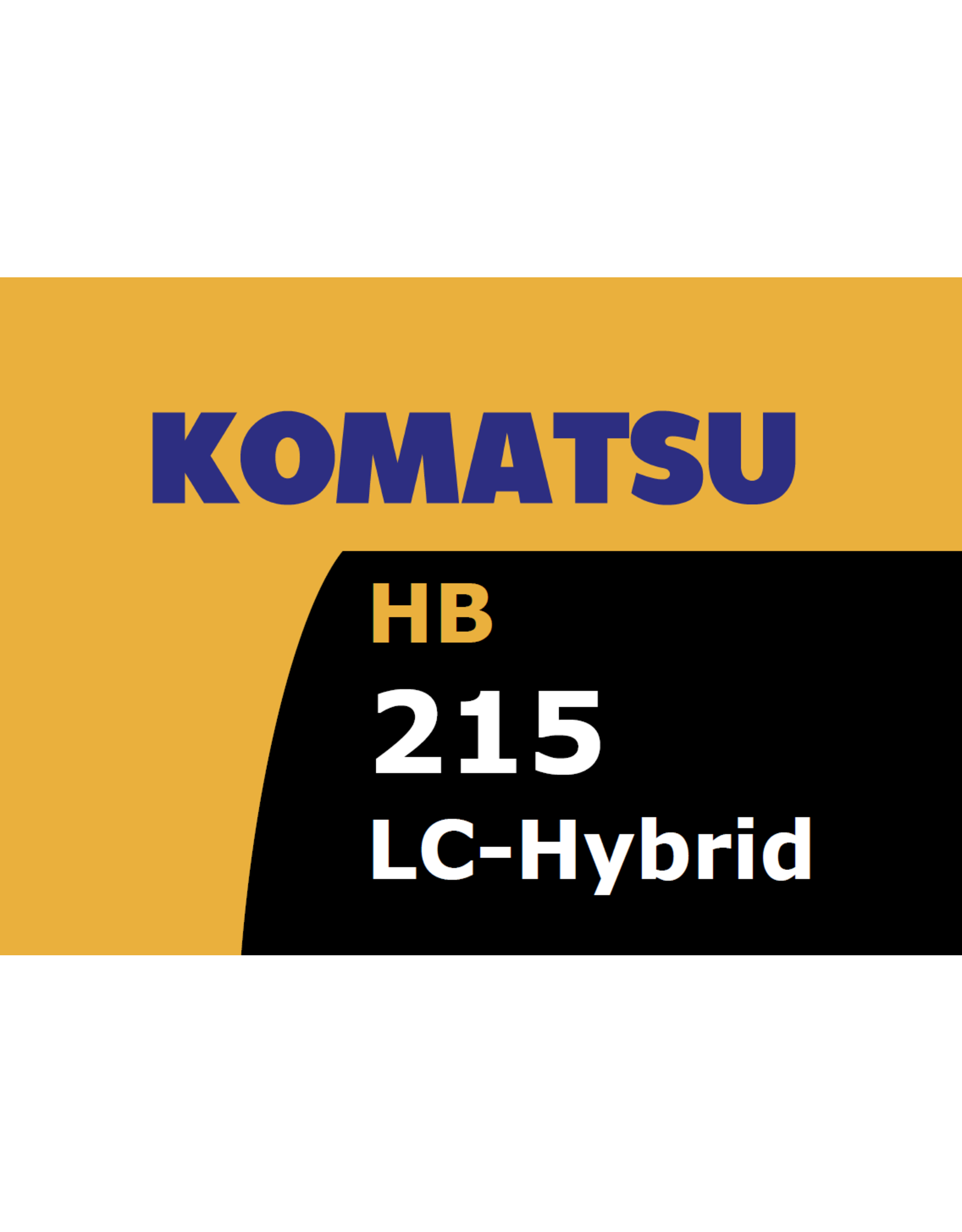 Echle Hartstahl GmbH FOPS für Komatsu HB215LC-3 Hybrid