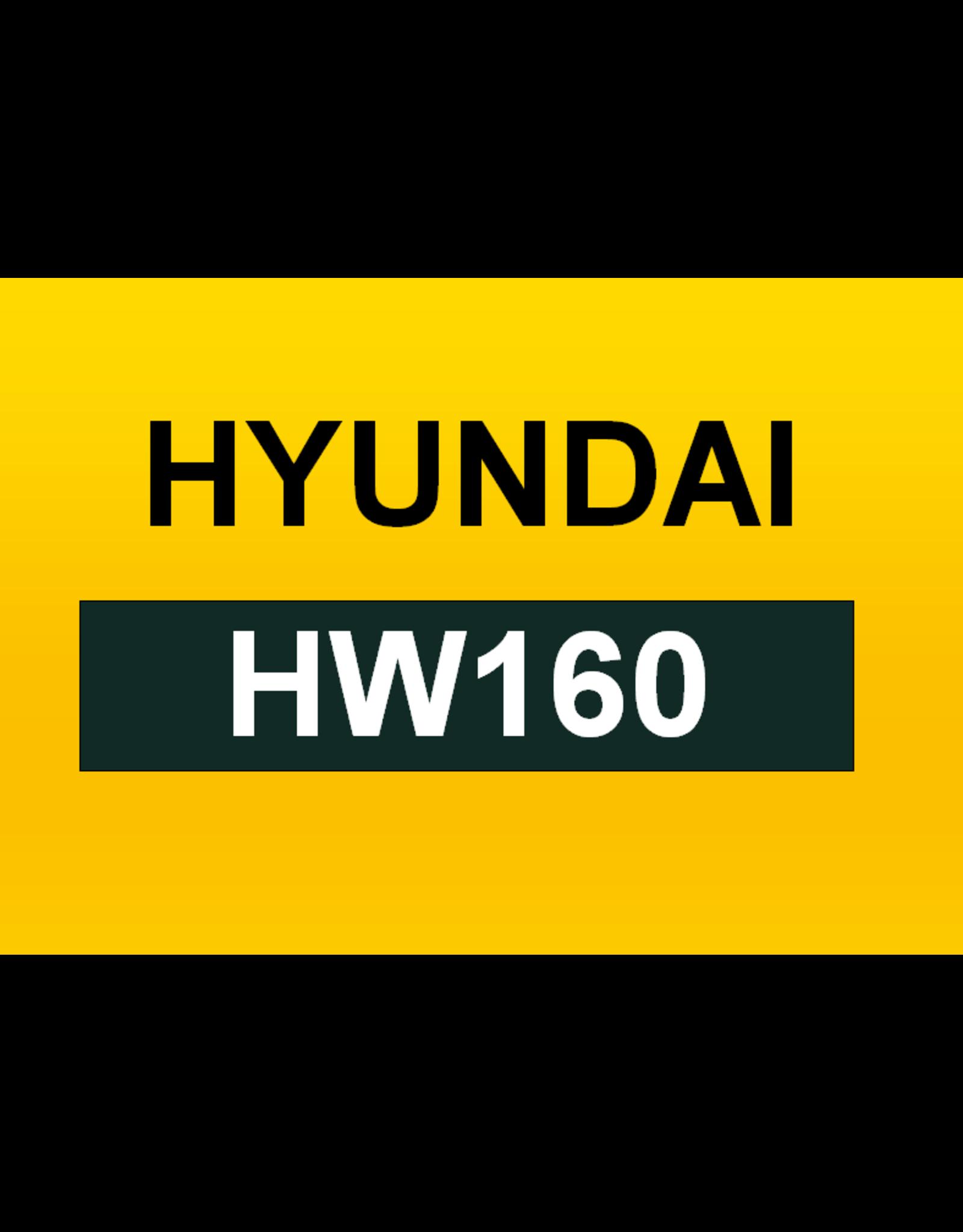 Echle Hartstahl GmbH FOPS for Hyundai HW160