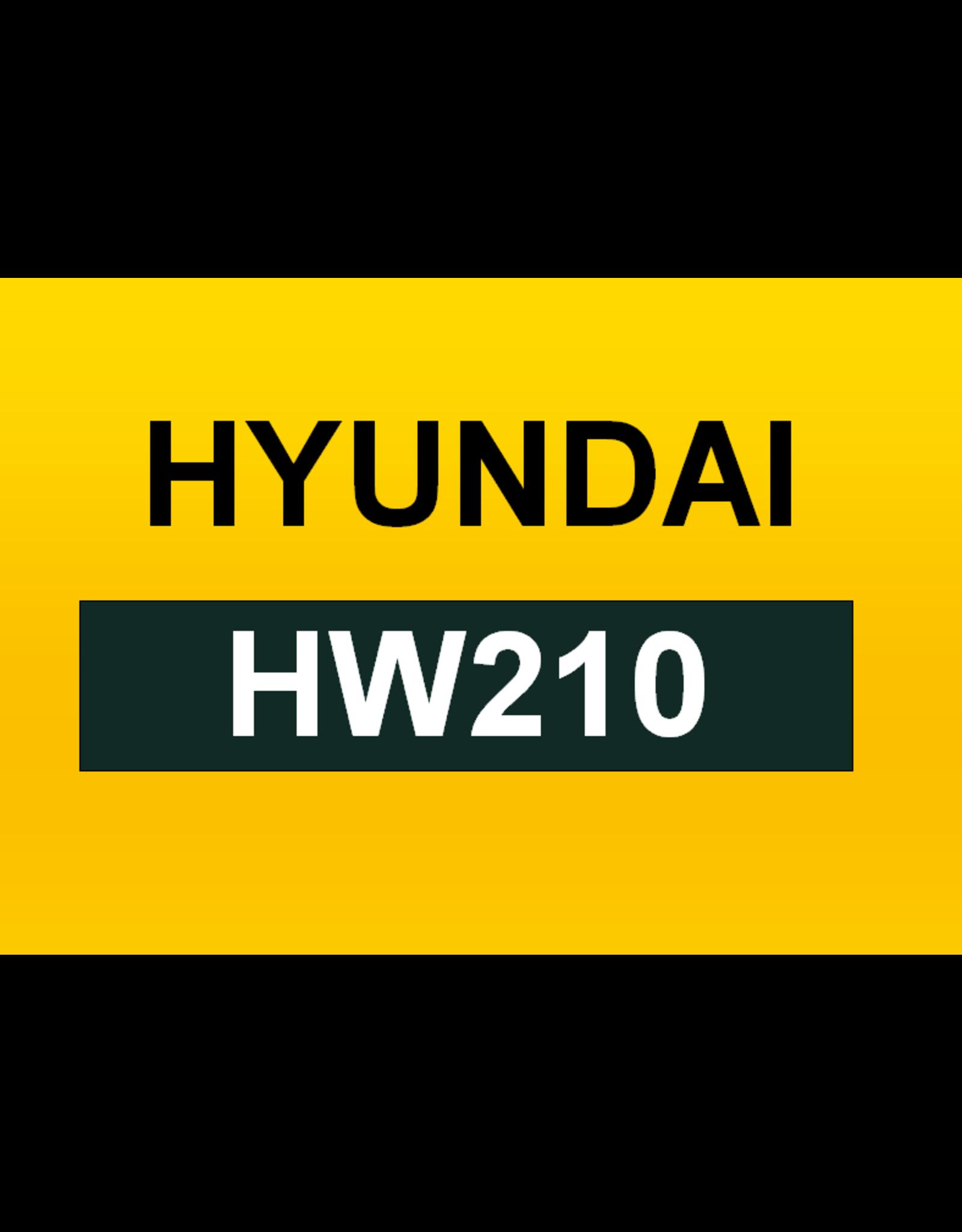 Echle Hartstahl GmbH FOPS for Hyundai HW210