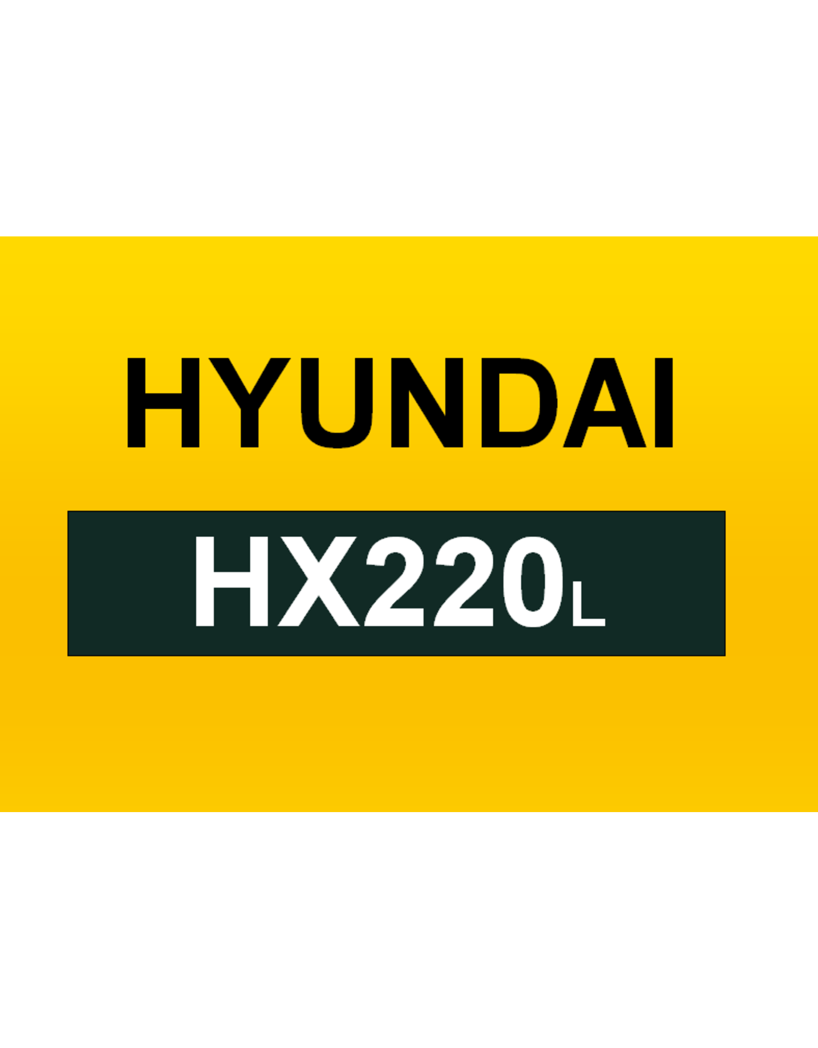 Echle Hartstahl GmbH FOPS für Hyundai HX220L