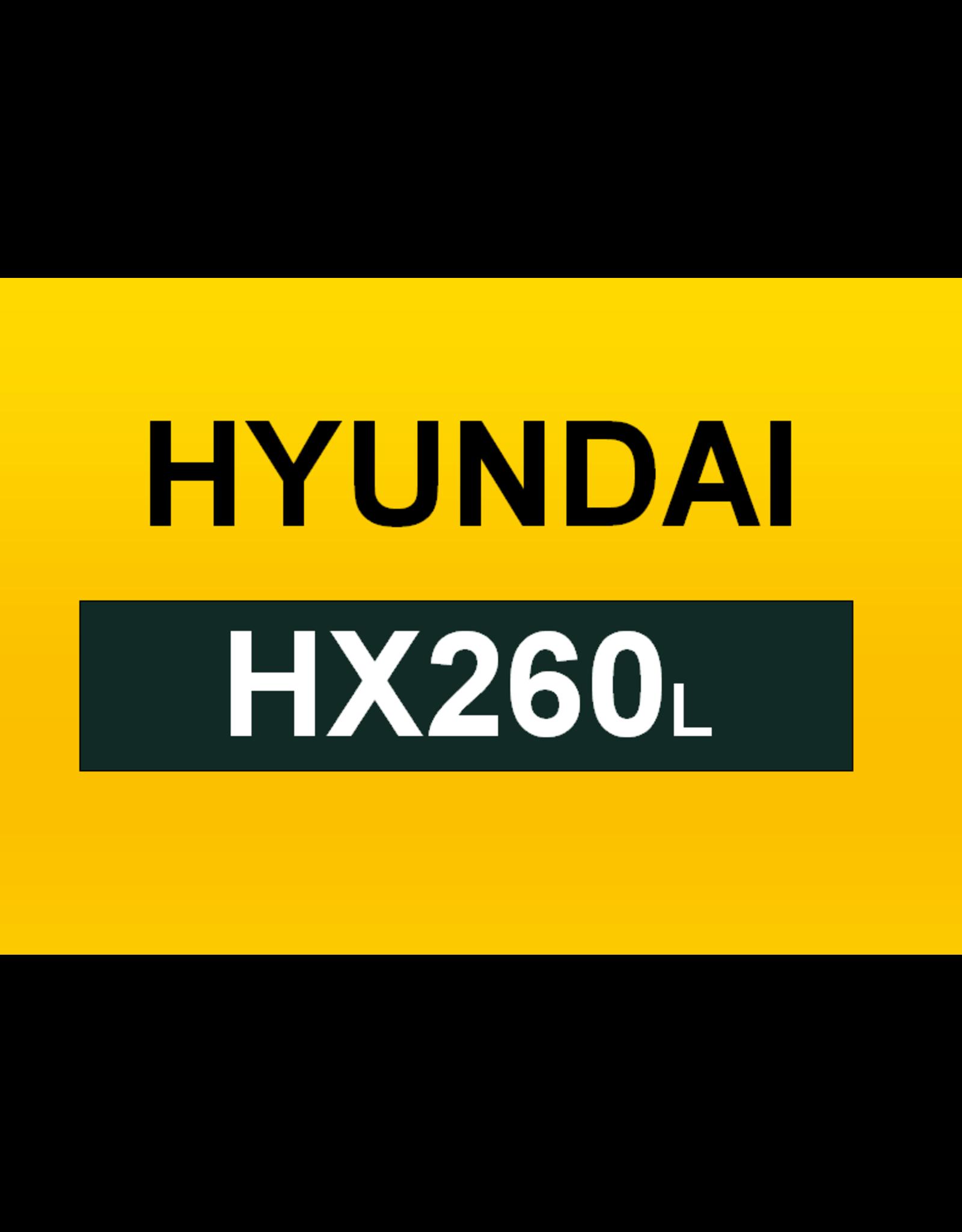 Echle Hartstahl GmbH FOPS für Hyundai HX260L