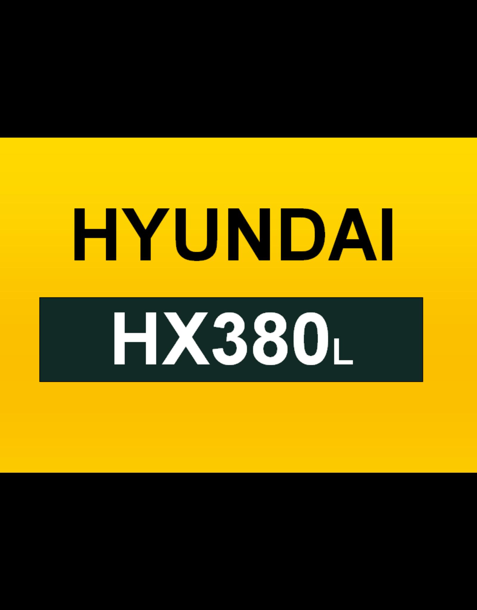 Echle Hartstahl GmbH FOPS pour Hyundai HX380L