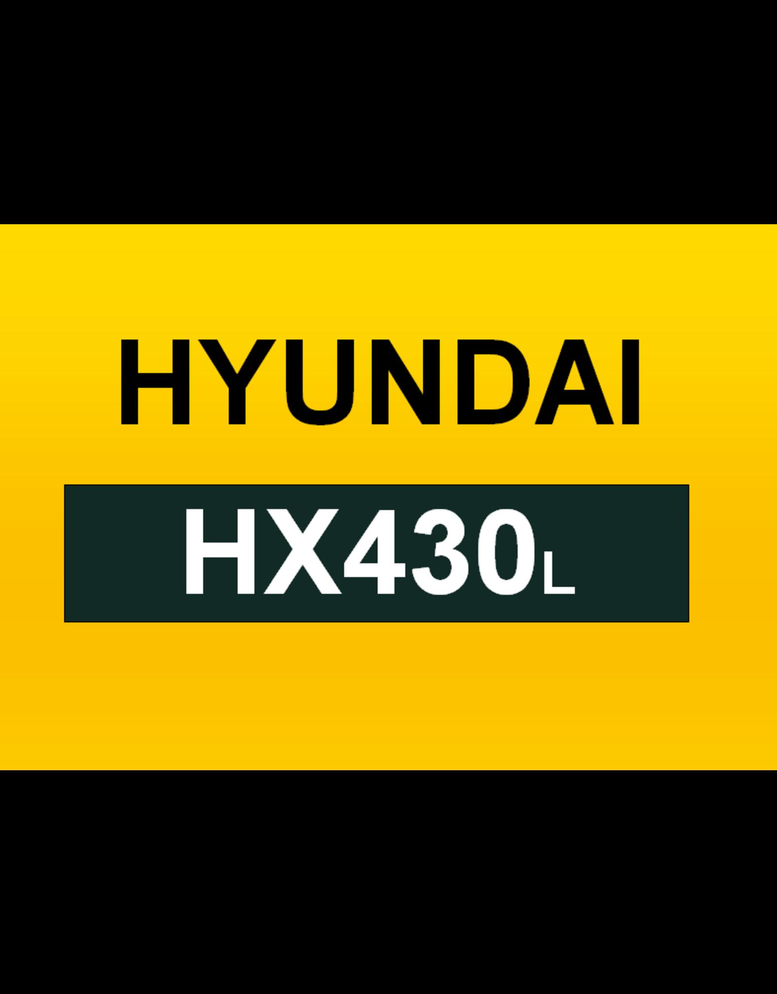 Echle Hartstahl GmbH FOPS pour Hyundai HX430L