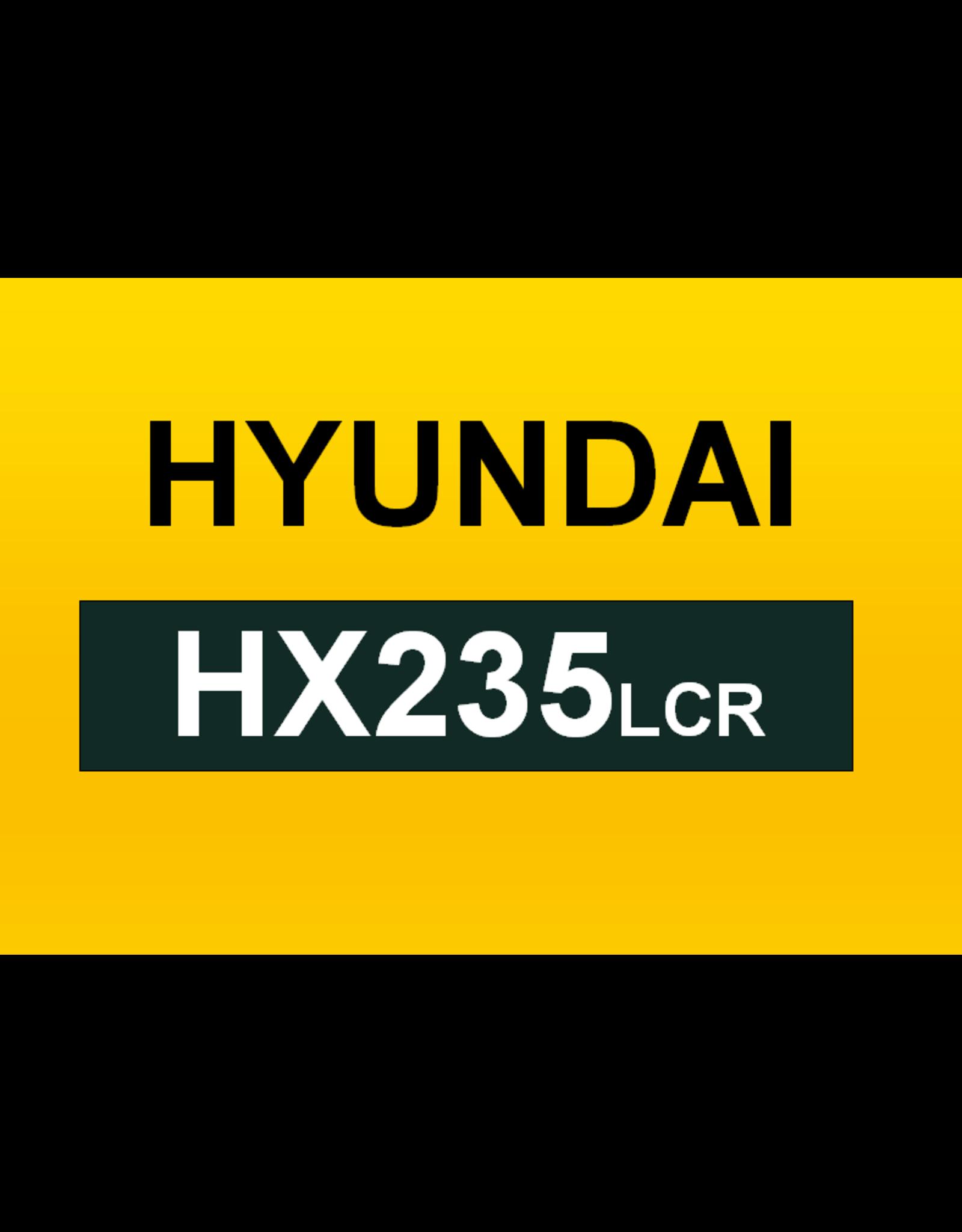 Echle Hartstahl GmbH FOPS pour Hyundai HX235LCR