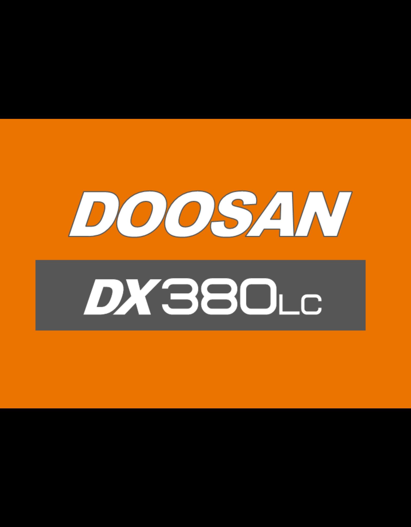 Echle Hartstahl GmbH FOPS for Doosan DX380LC-5