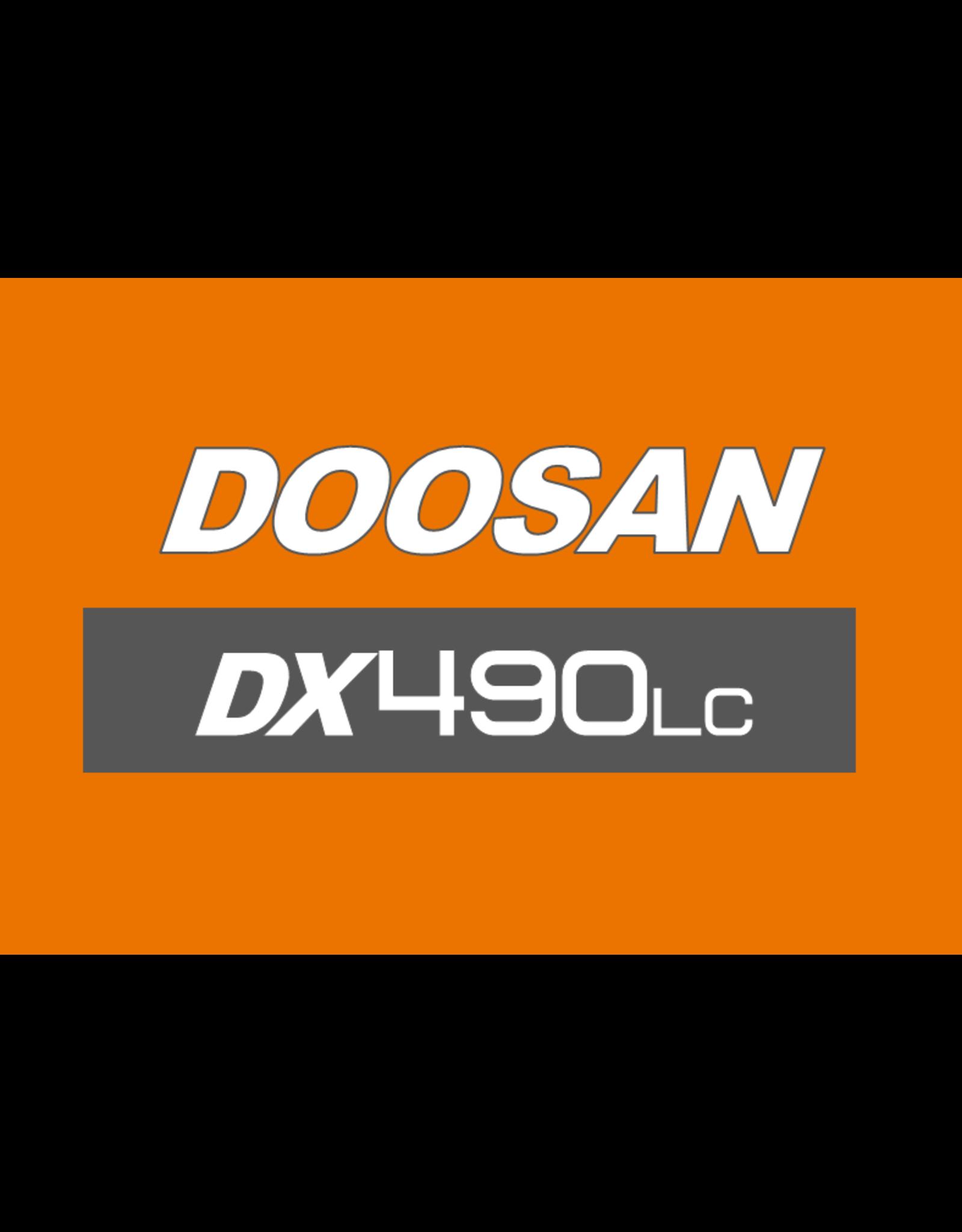 Echle Hartstahl GmbH FOPS for Doosan DX490LC-5