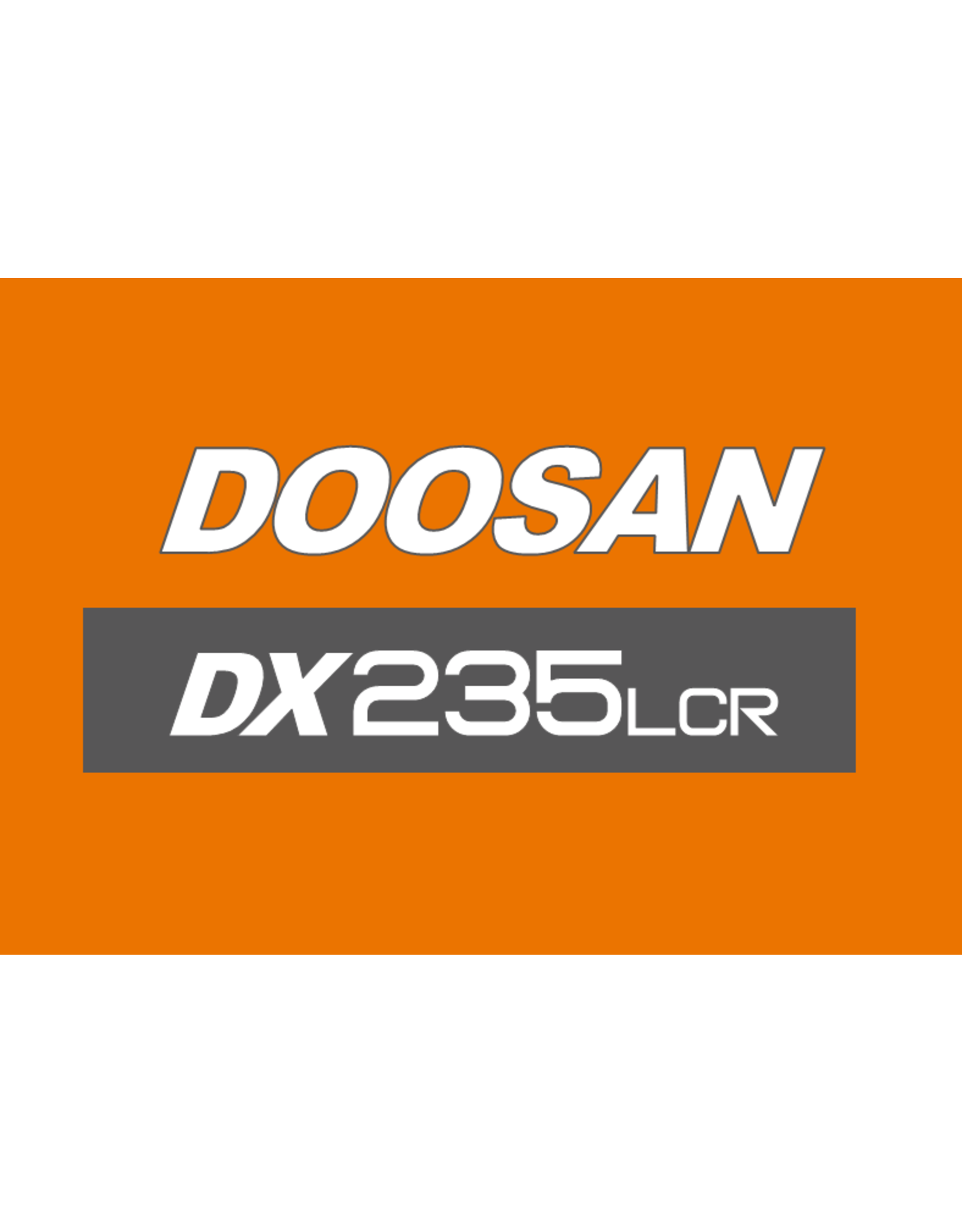Echle Hartstahl GmbH FOPS pour Doosan DX235LCR-5