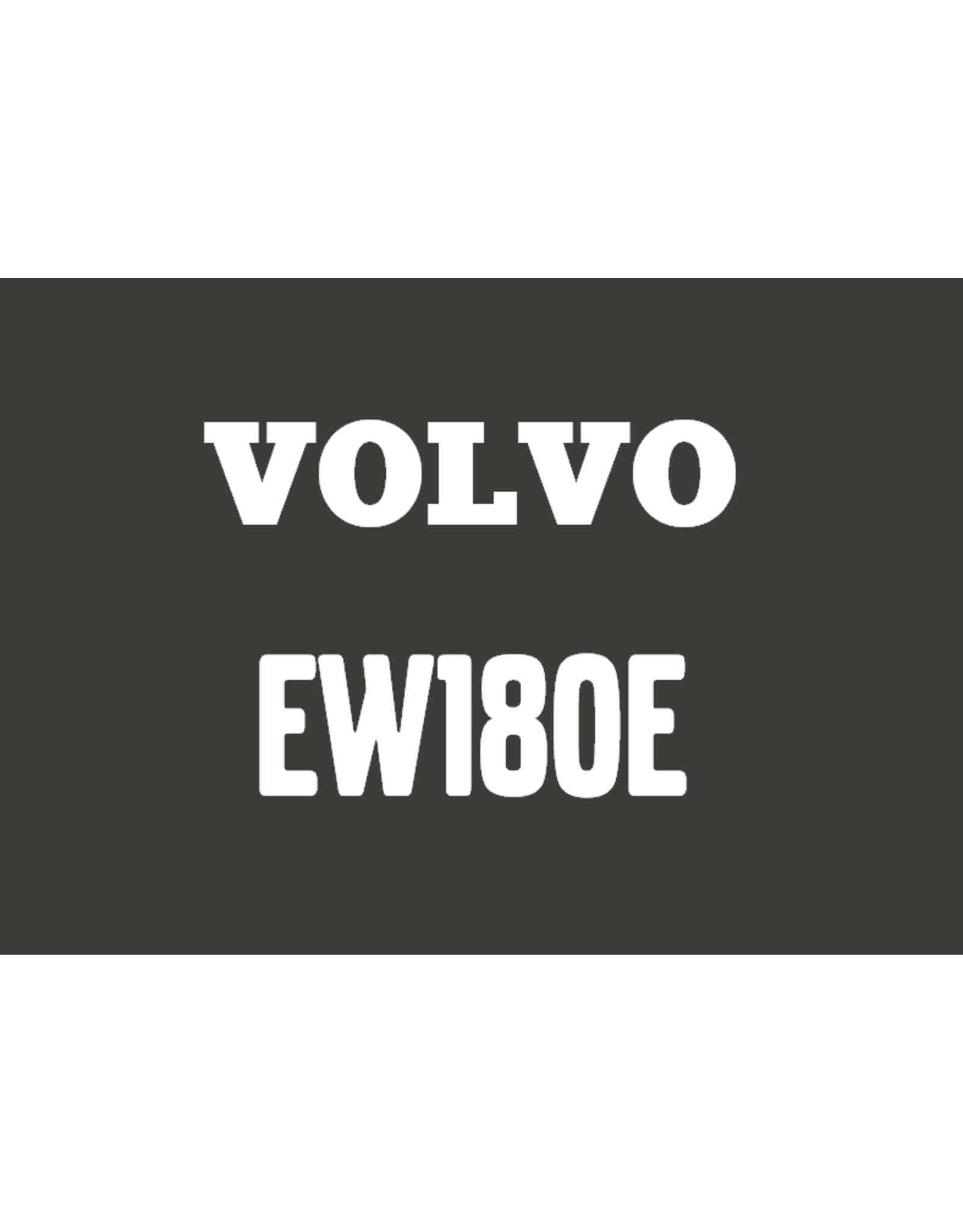 Echle Hartstahl GmbH FOPS for Volvo EW180E