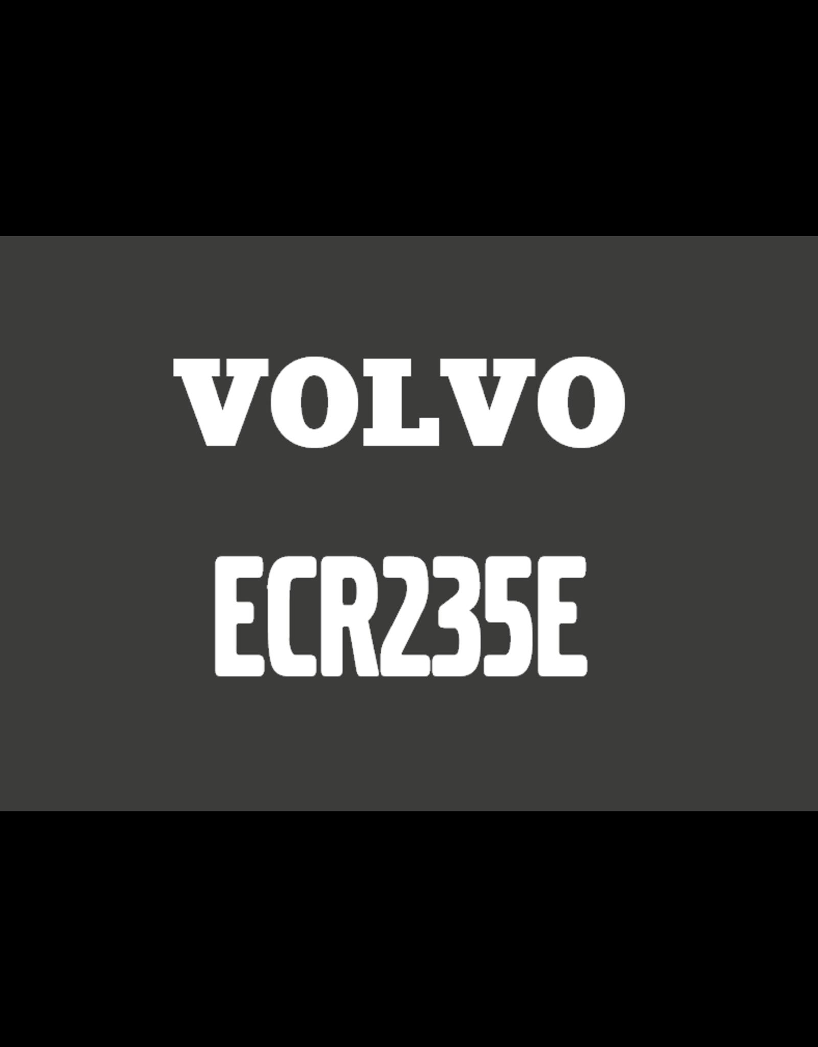 Echle Hartstahl GmbH FOPS pour Volvo ECR235E
