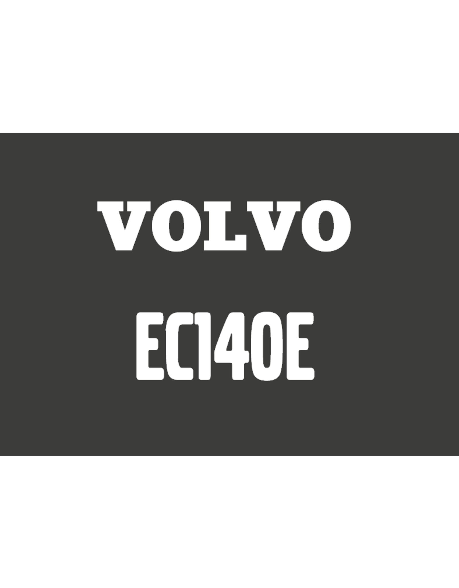 Echle Hartstahl GmbH FOPS für Volvo EC140E