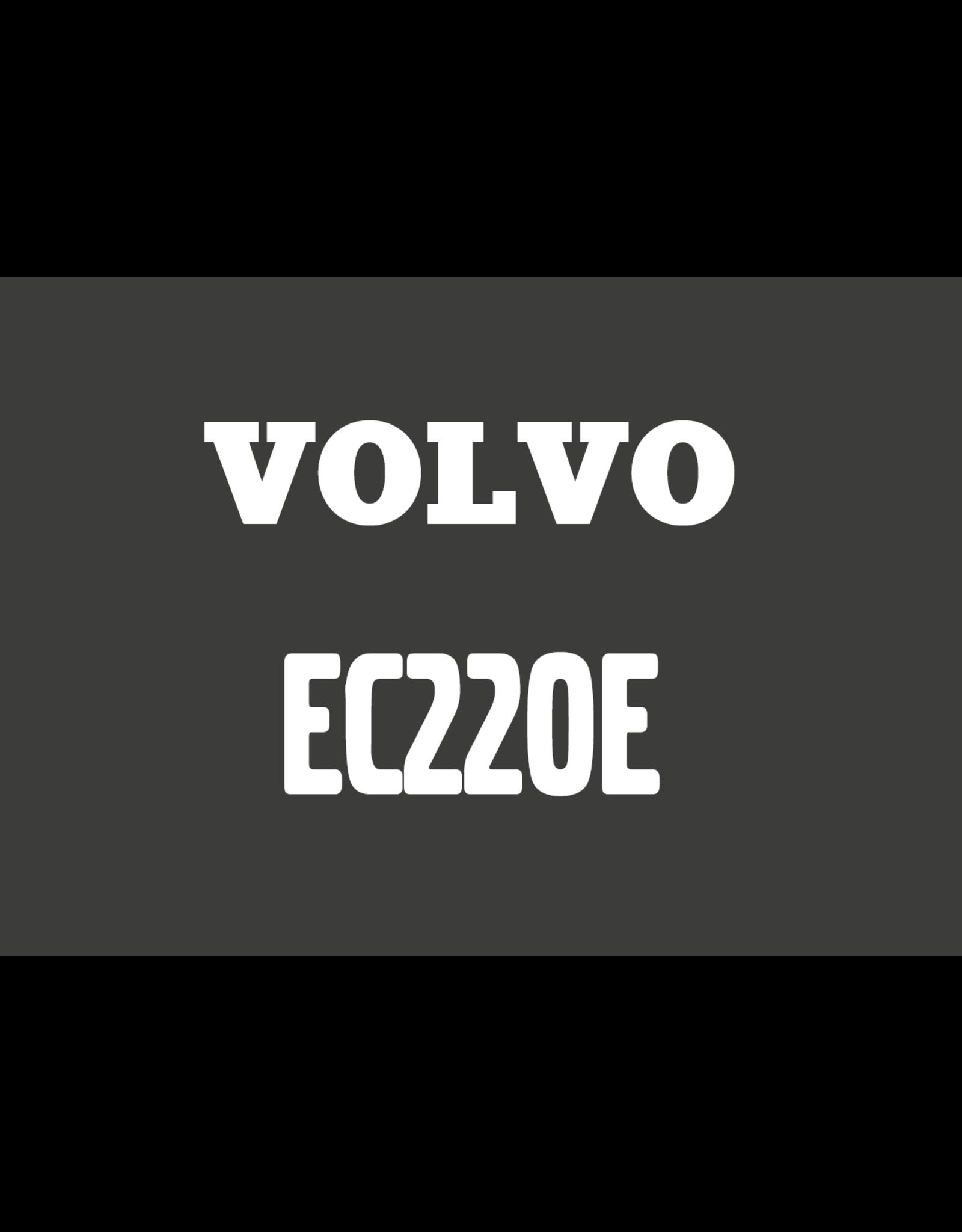 Echle Hartstahl GmbH FOPS pour Volvo EC220E