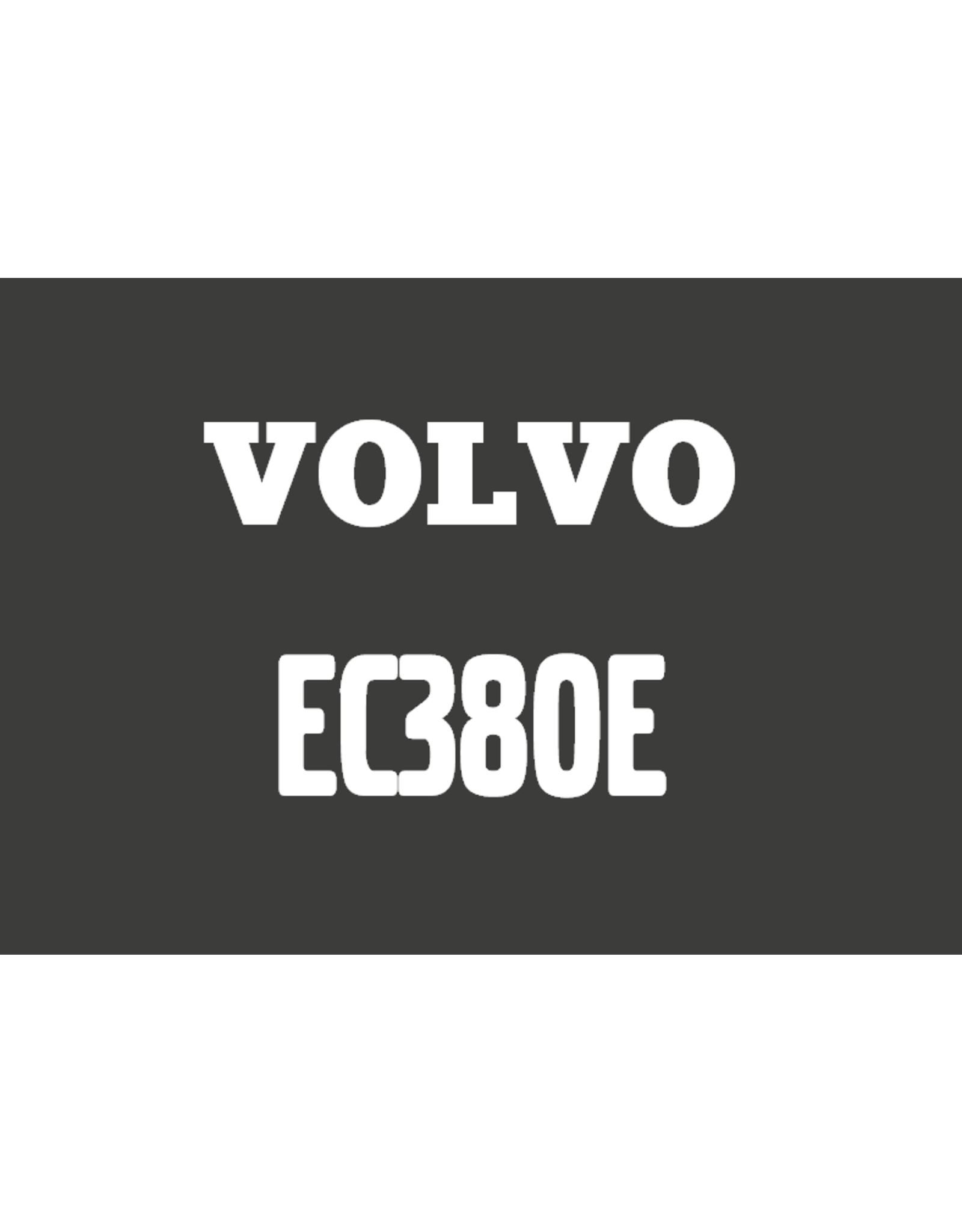 Echle Hartstahl GmbH FOPS für Volvo EC380E
