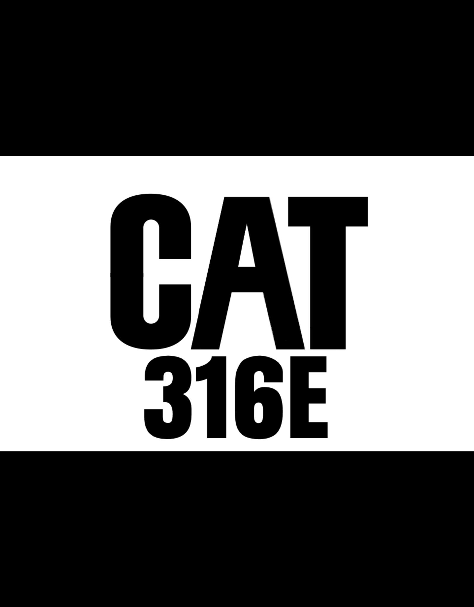 Echle Hartstahl GmbH FOPS pour CAT 316E