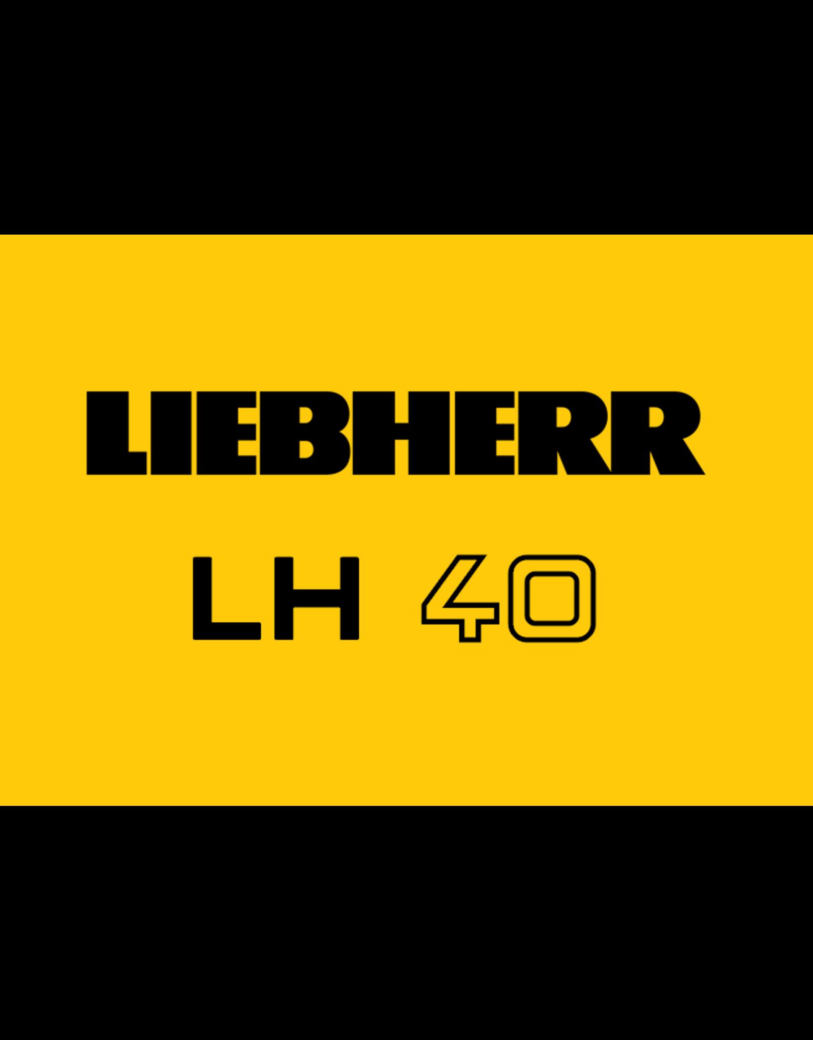 Echle Hartstahl GmbH FOPS pour Liebherr LH 40