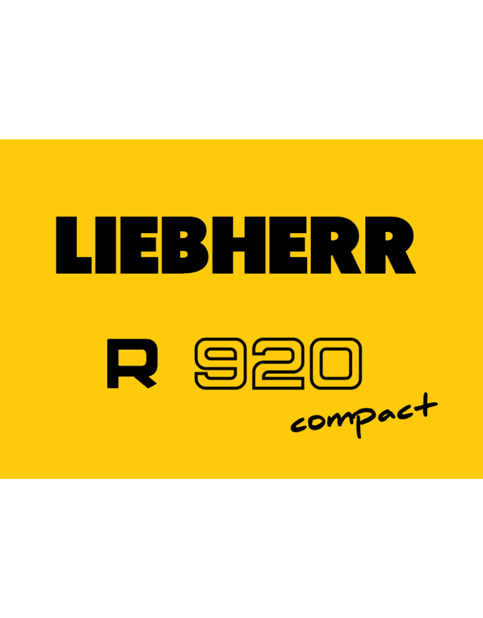 Echle Hartstahl GmbH FOPS for Liebherr R 920 Compact