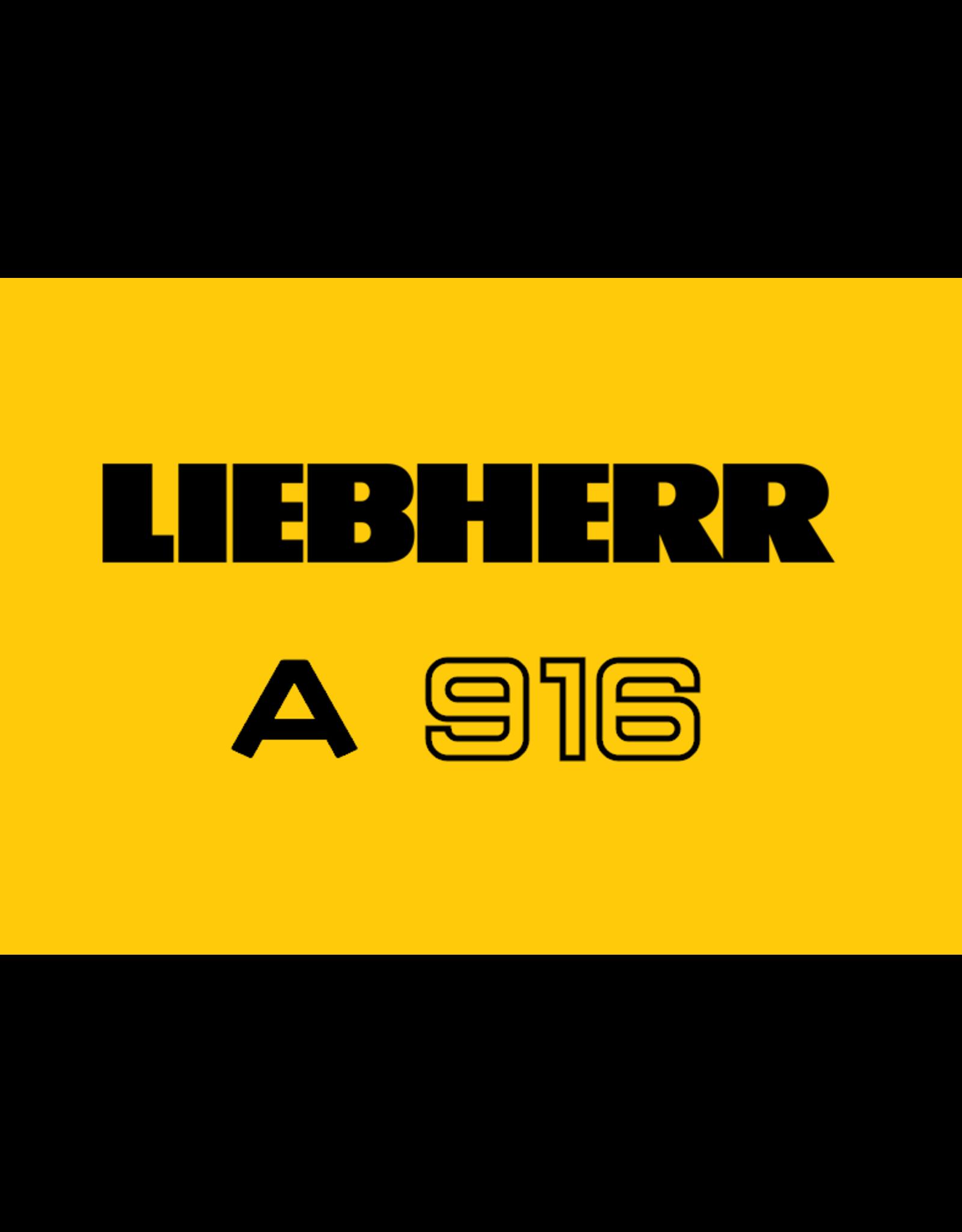 Echle Hartstahl GmbH FOPS pour Liebherr A 916