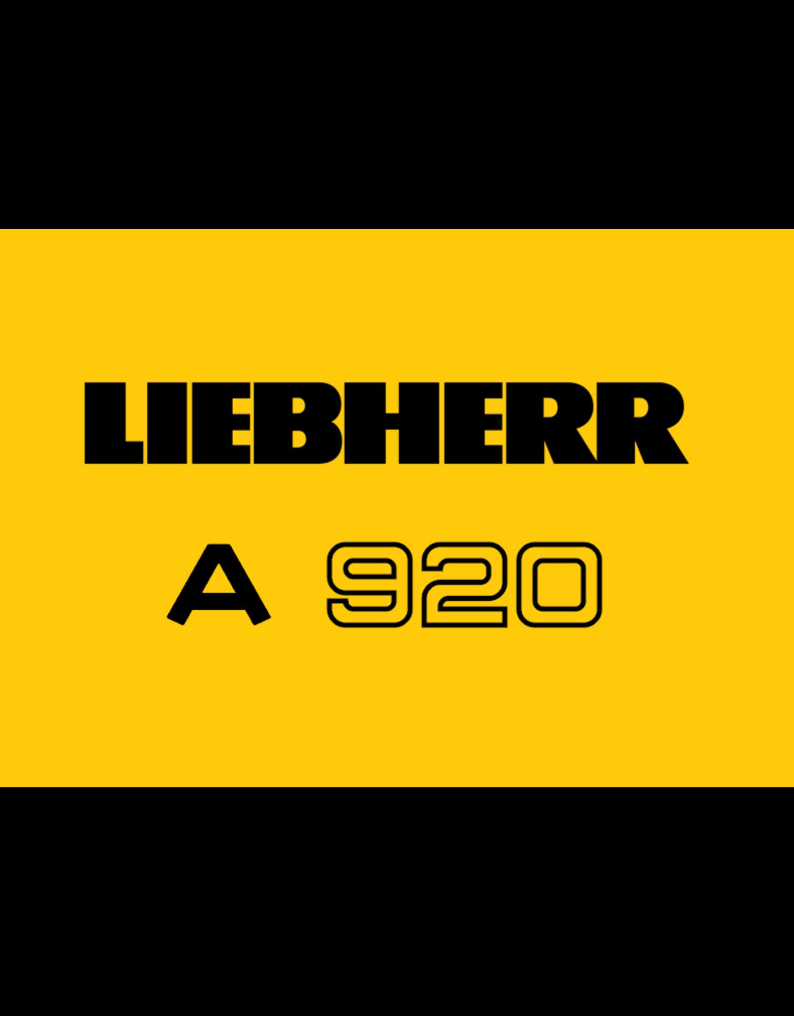 Echle Hartstahl GmbH FOPS für Liebherr A 920