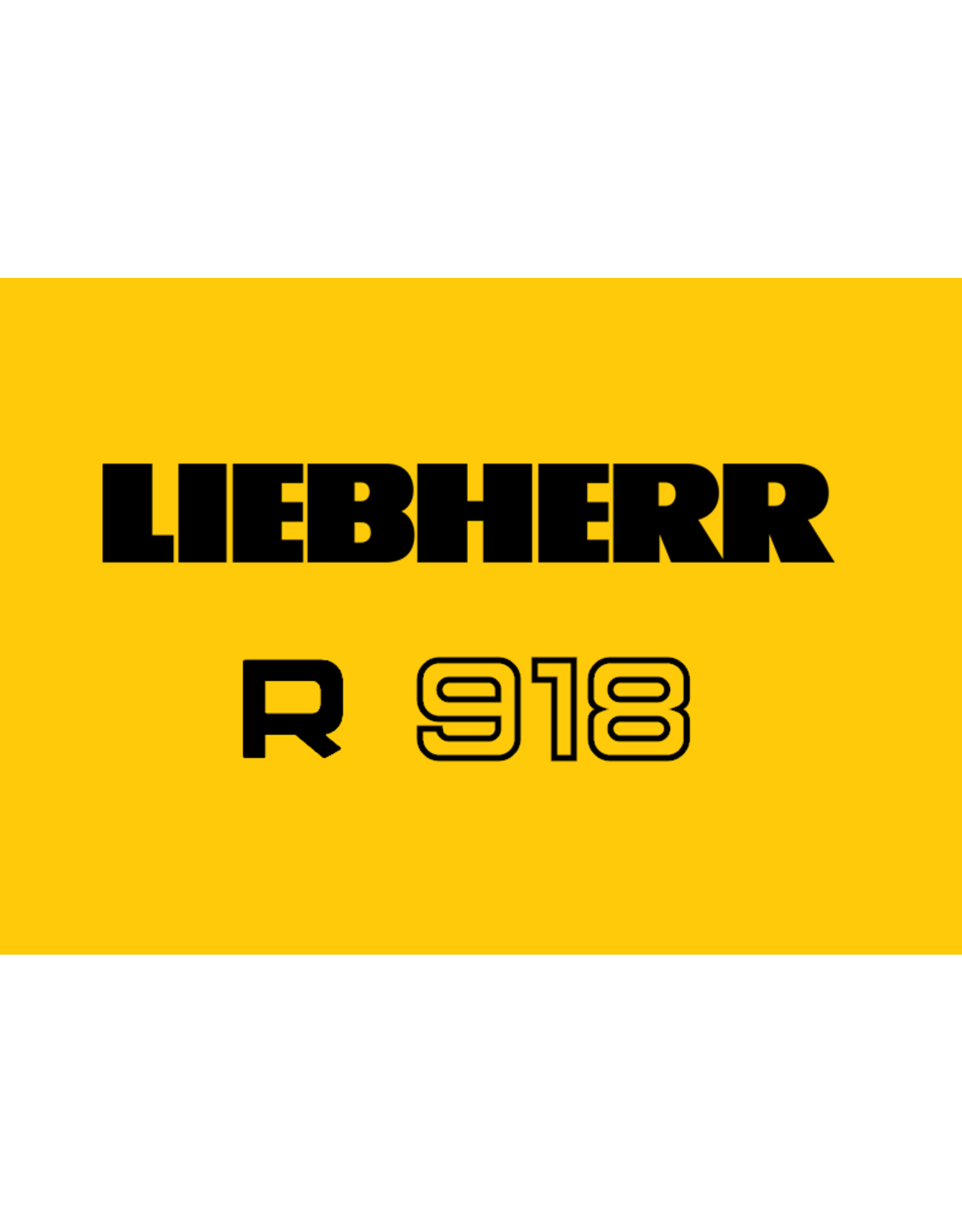 Echle Hartstahl GmbH FOPS for Liebherr R 918