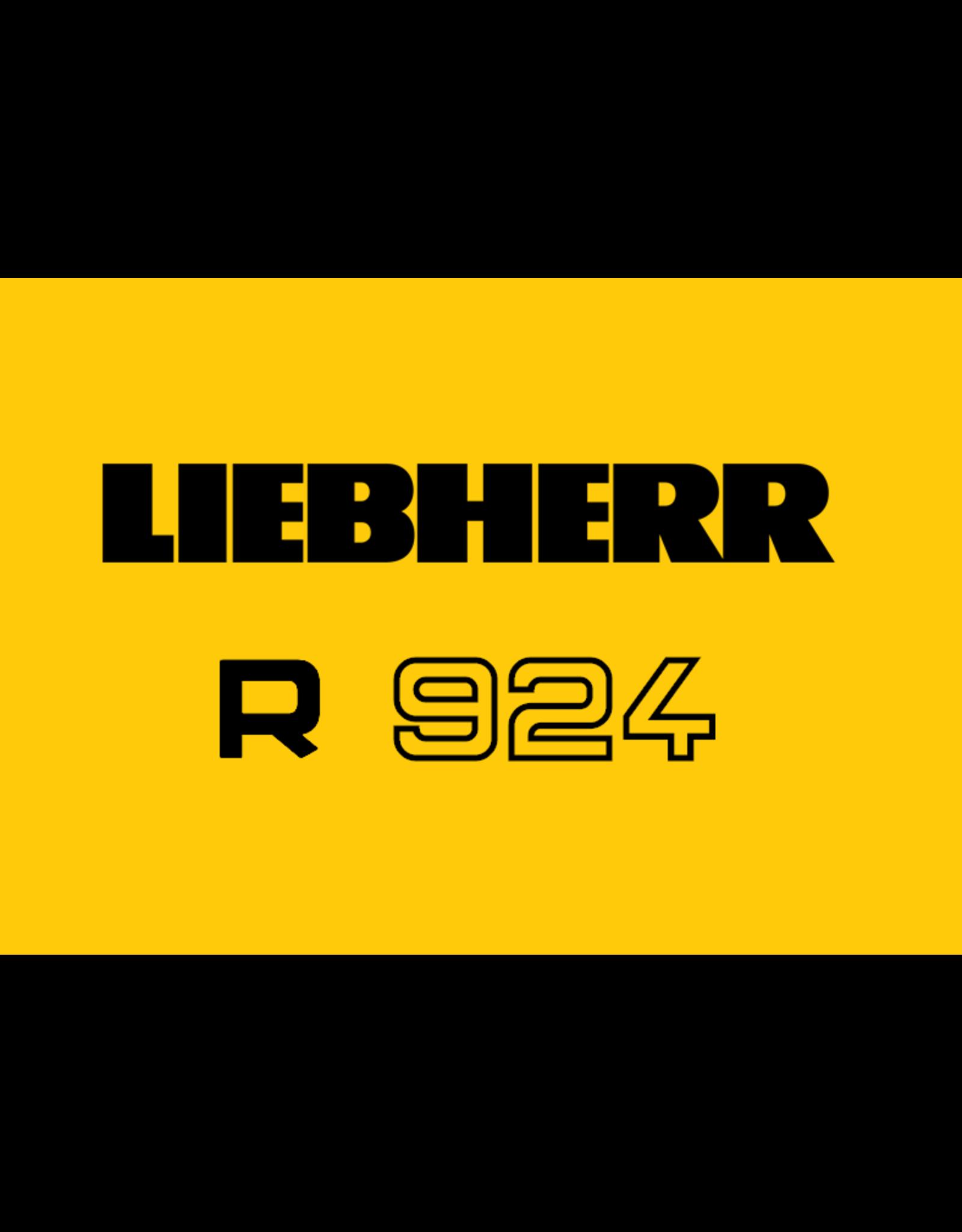 Echle Hartstahl GmbH FOPS for Liebherr R 924