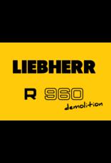 Echle Hartstahl GmbH FOPS pour Liebherr R 960 Demolition