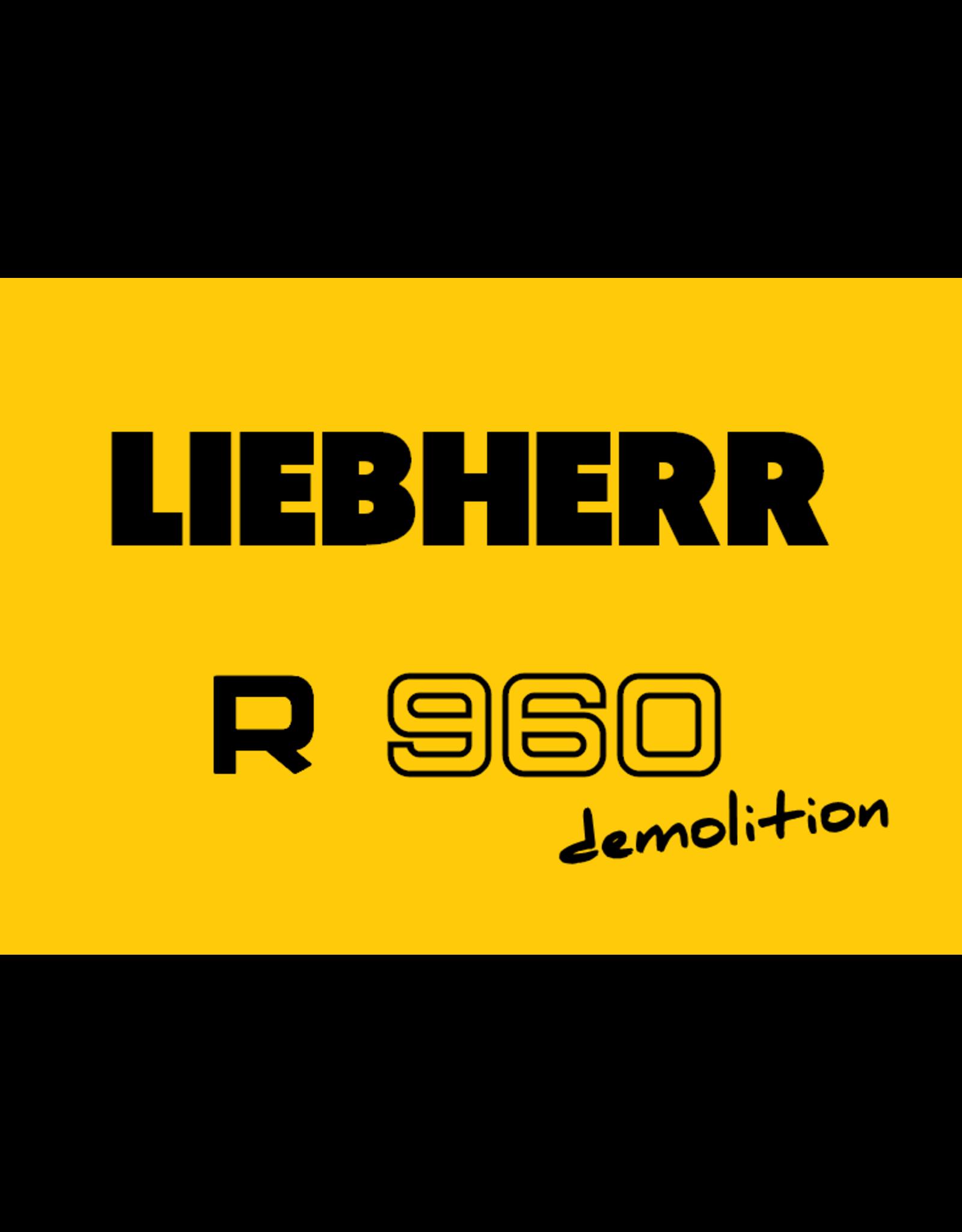 Echle Hartstahl GmbH FOPS for Liebherr R 960 Demolition