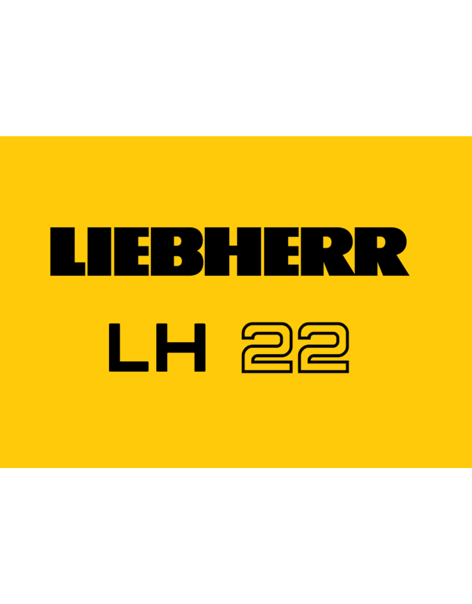 Echle Hartstahl GmbH FOPS pour Liebherr LH 22