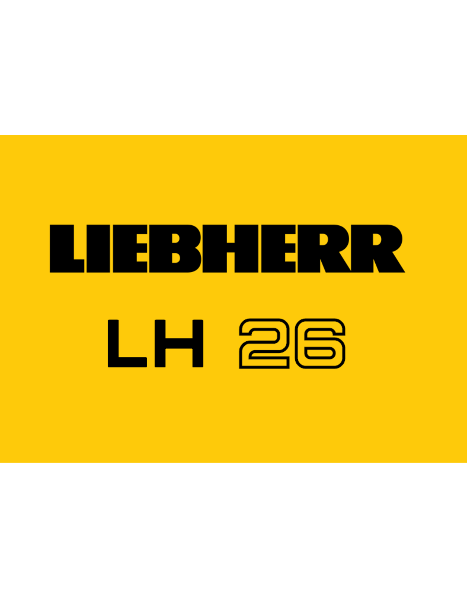 Echle Hartstahl GmbH FOPS pour Liebherr LH 26
