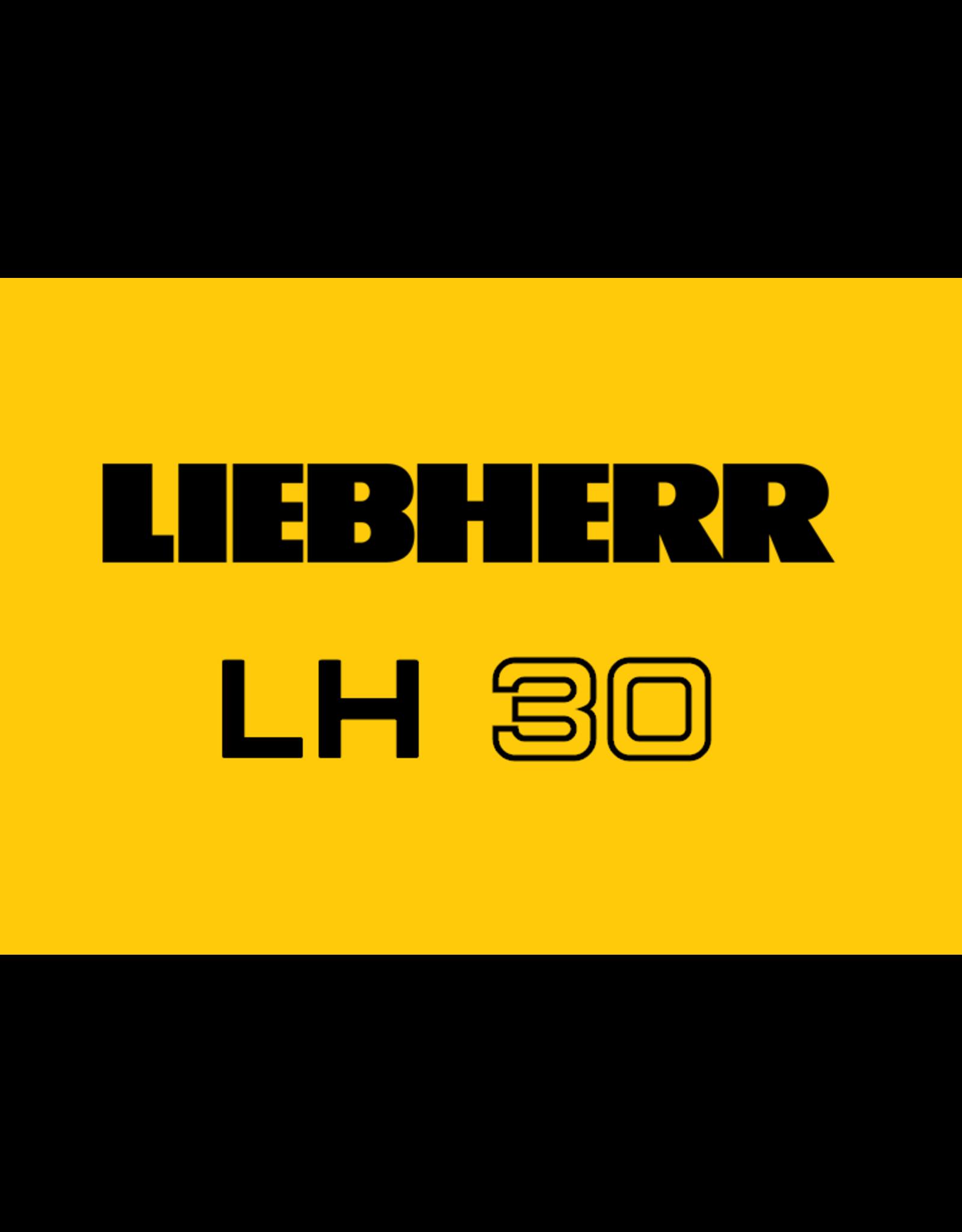 Echle Hartstahl GmbH FOPS pour Liebherr LH 30