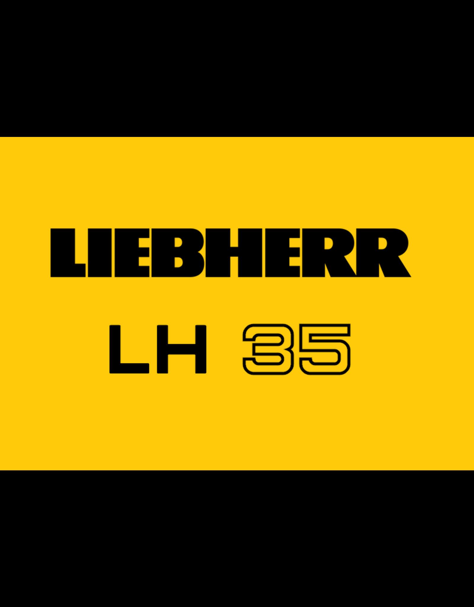 Echle Hartstahl GmbH FOPS pour Liebherr LH 35