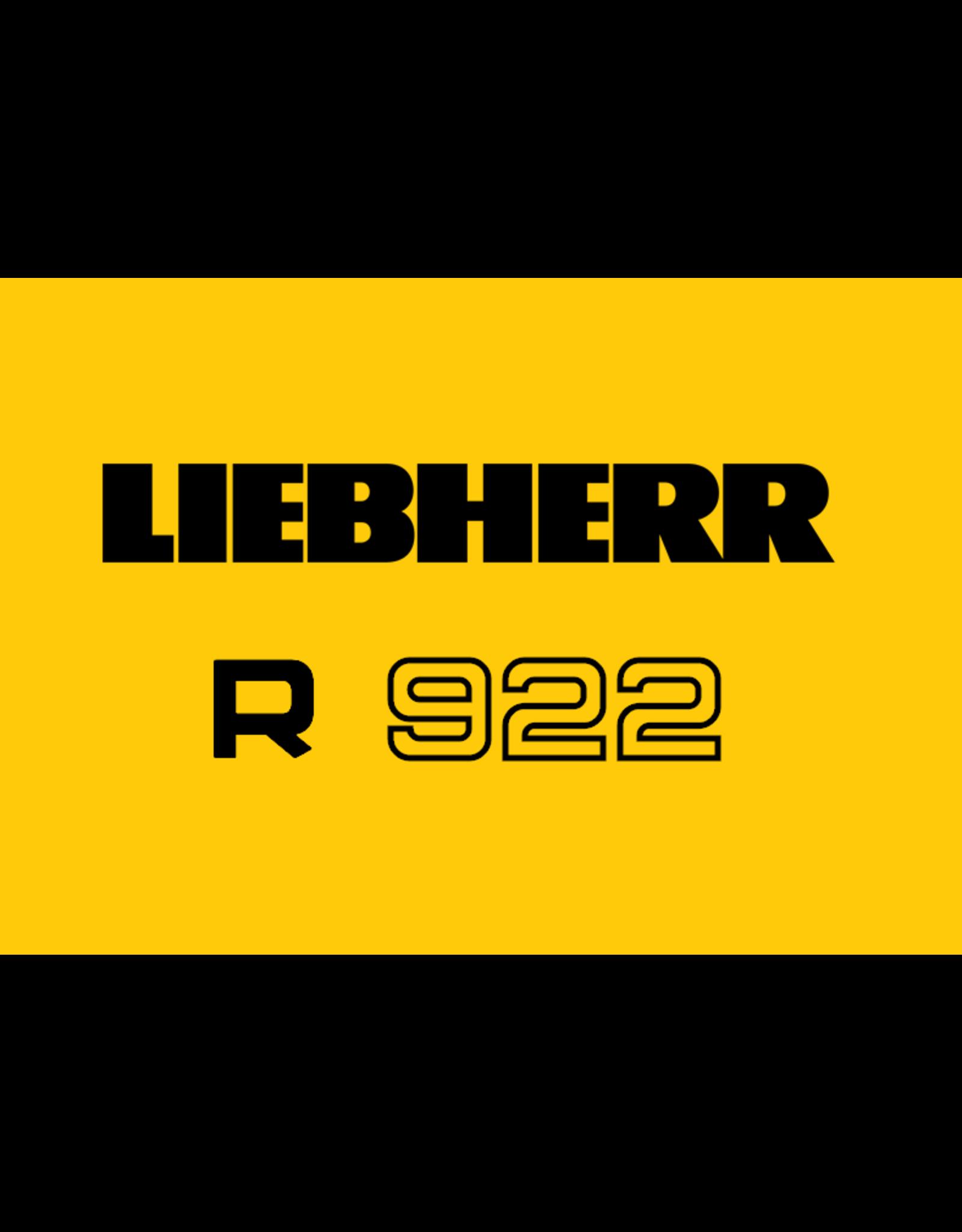 Echle Hartstahl GmbH FOPS for Liebherr R 922