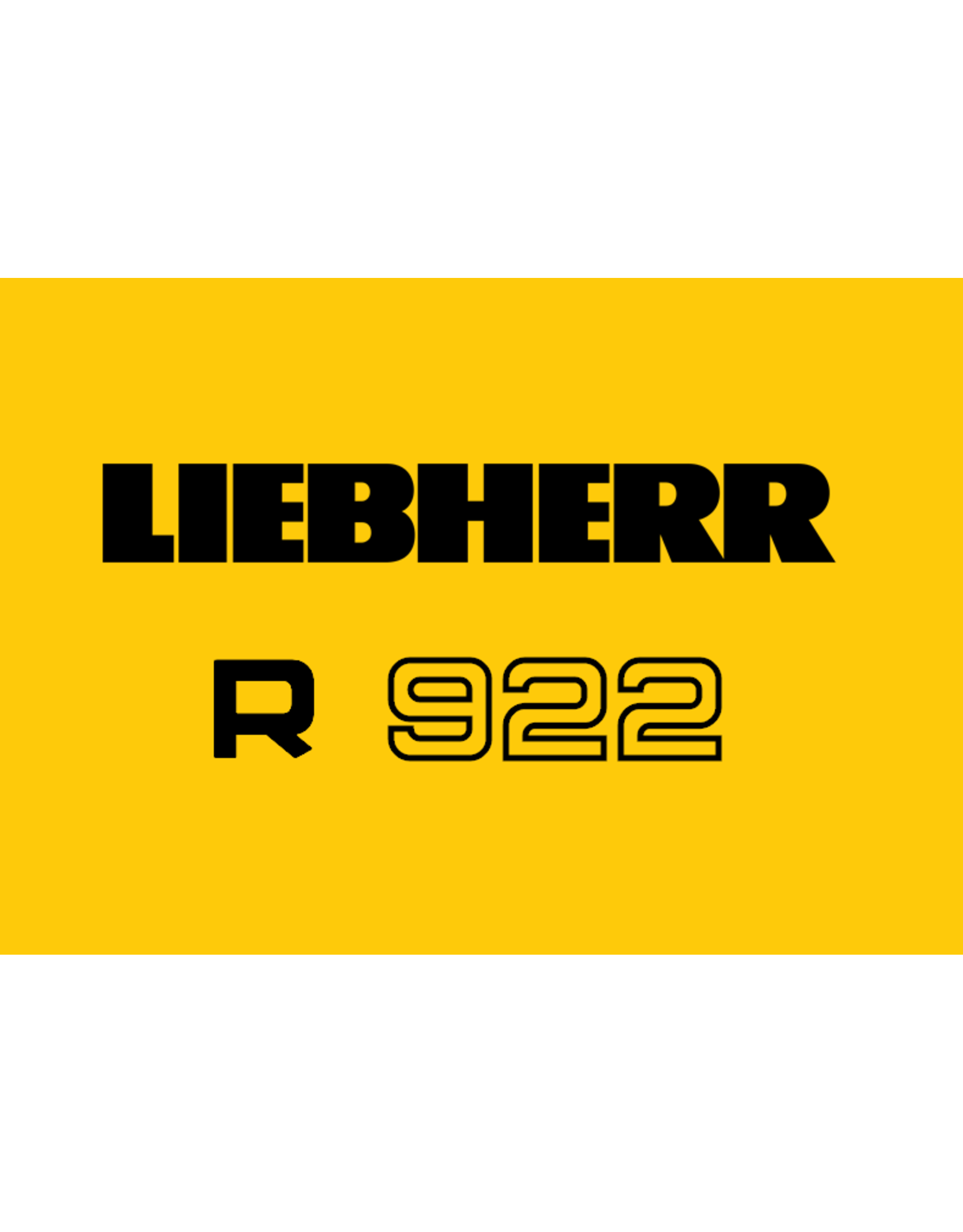 Echle Hartstahl GmbH FOPS pour Liebherr R 922