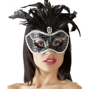 Masker Zwart/Zilver