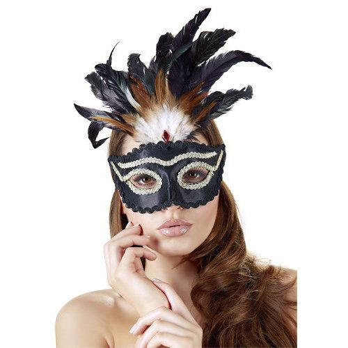 Masker Zwart/Goud