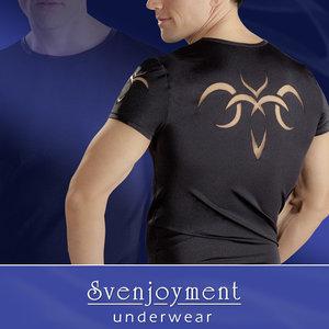 Svenjoyment Heren Shirt Tribal