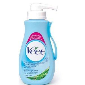 Veet Veet ontharingscreme voor de Gevoelige huid (blauw)