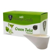 Massagekaars Green Twist