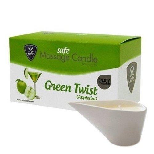 Safe Massagekaars Green Twist